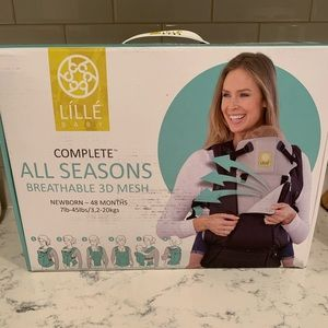 LILLE BABY complete all seasons mesh baby carrier